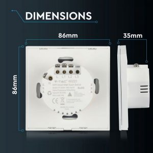 WIFI Smart Touch Switch - Double Control