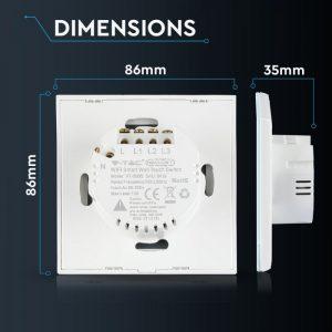 WIFI Smart Touch Switch - Triple Control