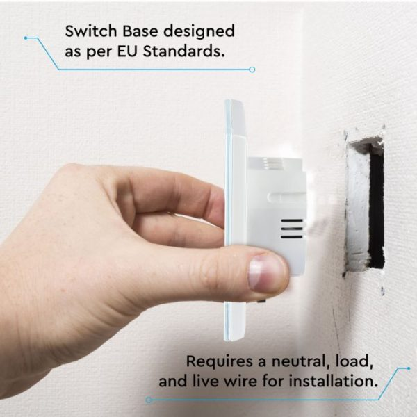 WIFI Smart Touch Switch - Triple Control