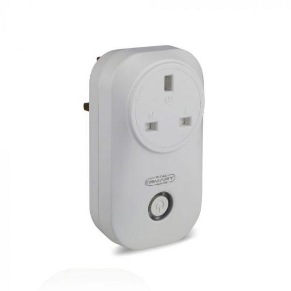 WIFI Plug FR BS Plug- compatible with Amazon Alexa and Google Home