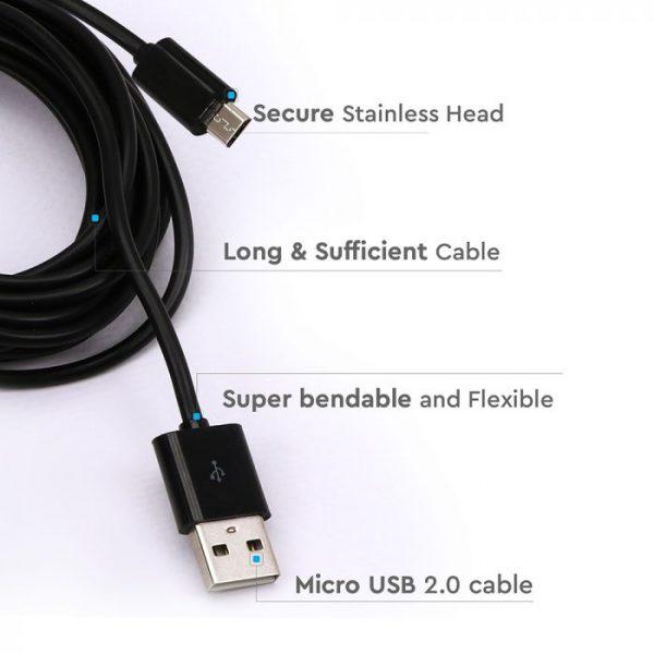 3M Micro USB Cable Black