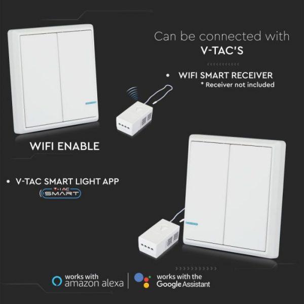 2 Gang Way Sensor Switch IP54