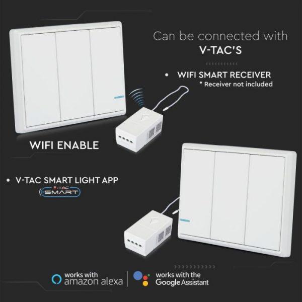 3 Gang Way Sensor Switch IP54