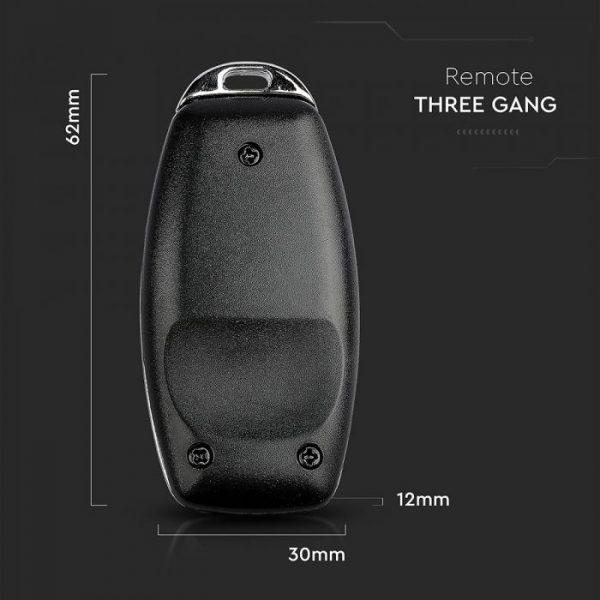 3 Gang Sensor Remote IP44