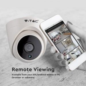 Analog High Definition Surveillance Indoor Camera AHD/CVI/TVI/CVBS-2.0MP-Dome