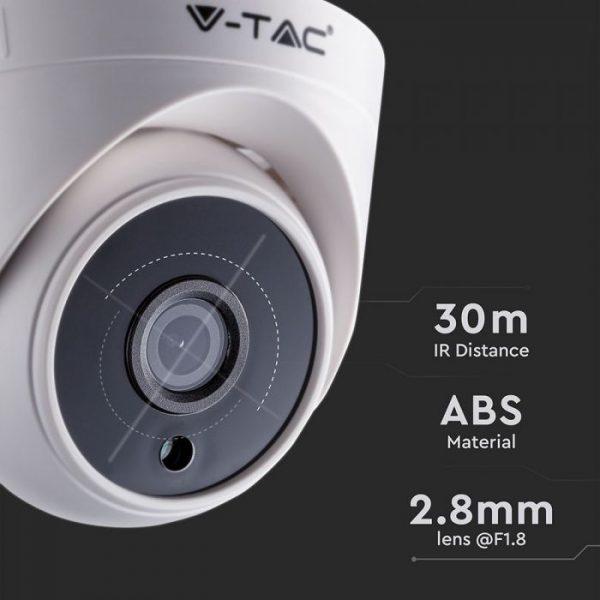 Analog High Definition Surveillance Indoor Camera AHD/CVI/TVI/CVBS-2.0MP-Dome