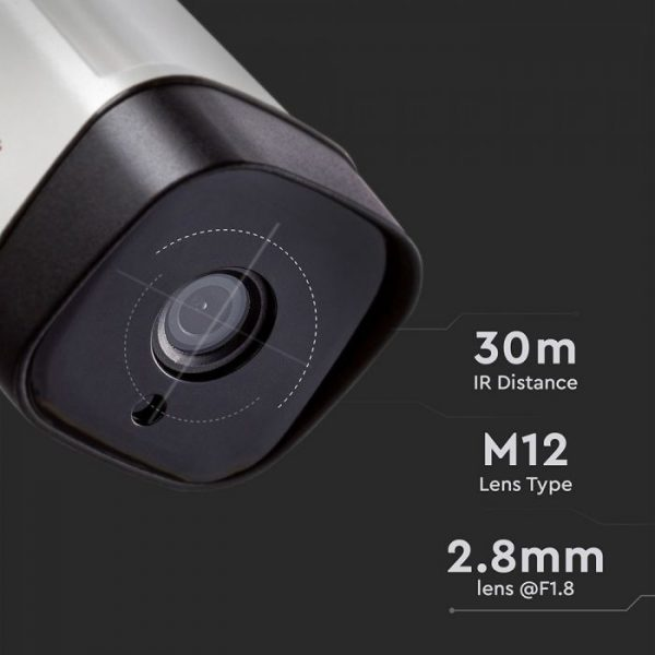 Analog High Definition Surveillance Outdoor Camera AHD/CVI/TVI/CVBS -2.0MP-Bullet