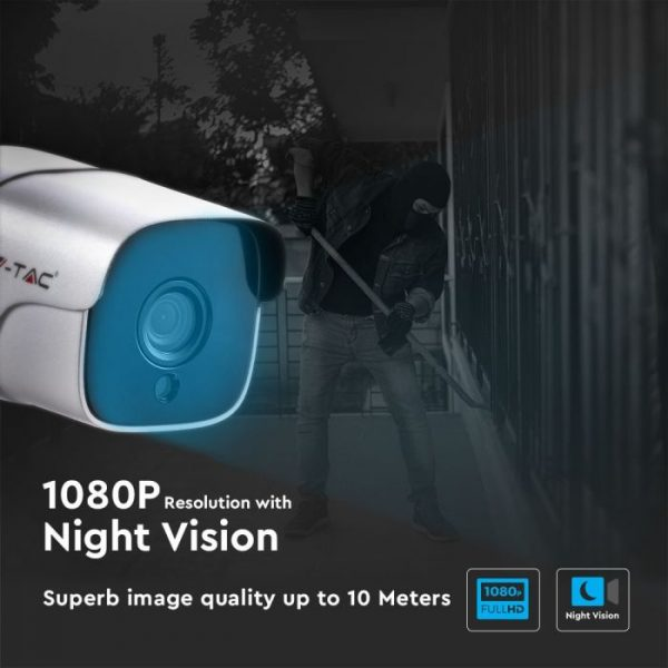 IP Security CAmera 1080P Indoor/ Outdoor -2.0MP-Bullet