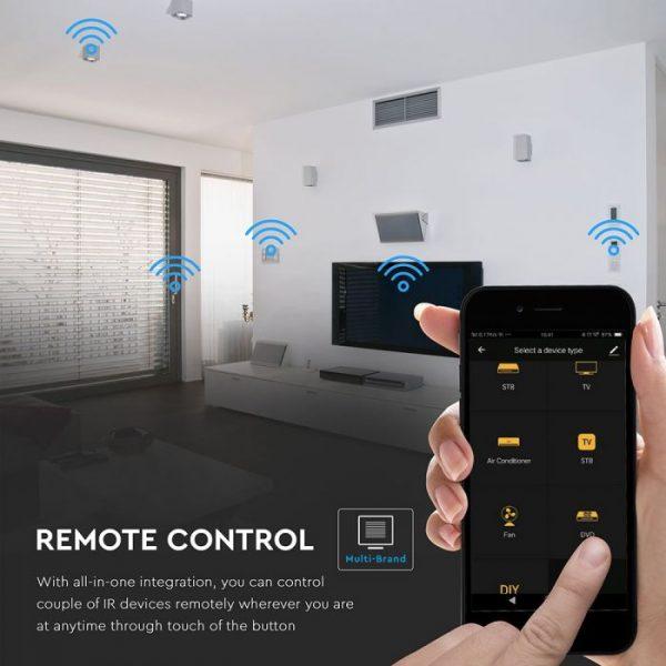 WIFI Infrared Universal Remote Control compatible with Amazon Alexa & Google Home