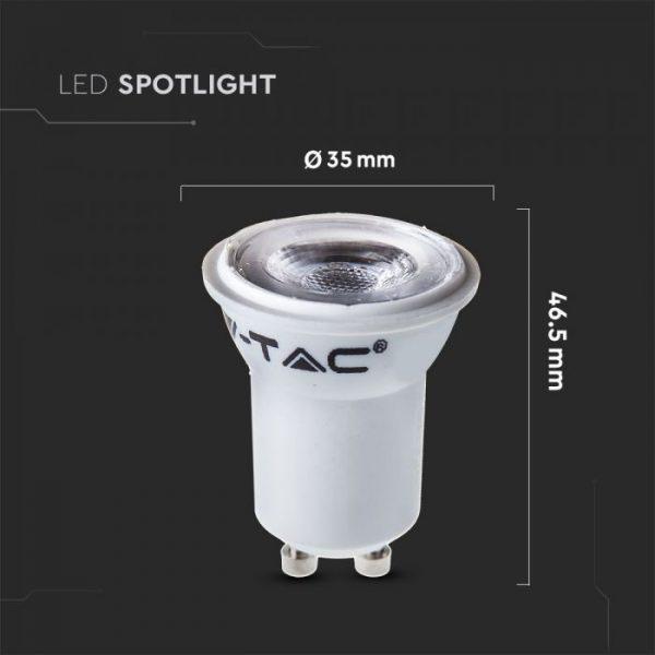 2W GU10 Plastic Bulb MR11