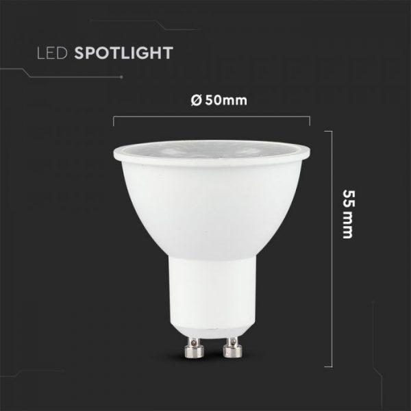 8W GU10 Plastic Spotlight 110°