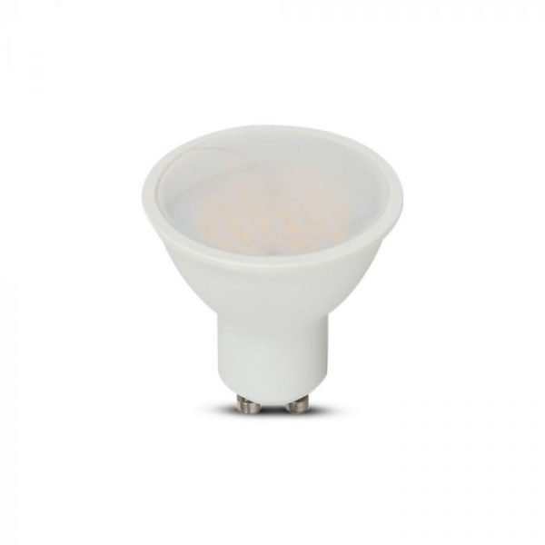10W GU10 Plastic Spotlight 100° Milky Cover