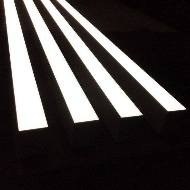 Bespoke LED Linear Light Suspended & Surface