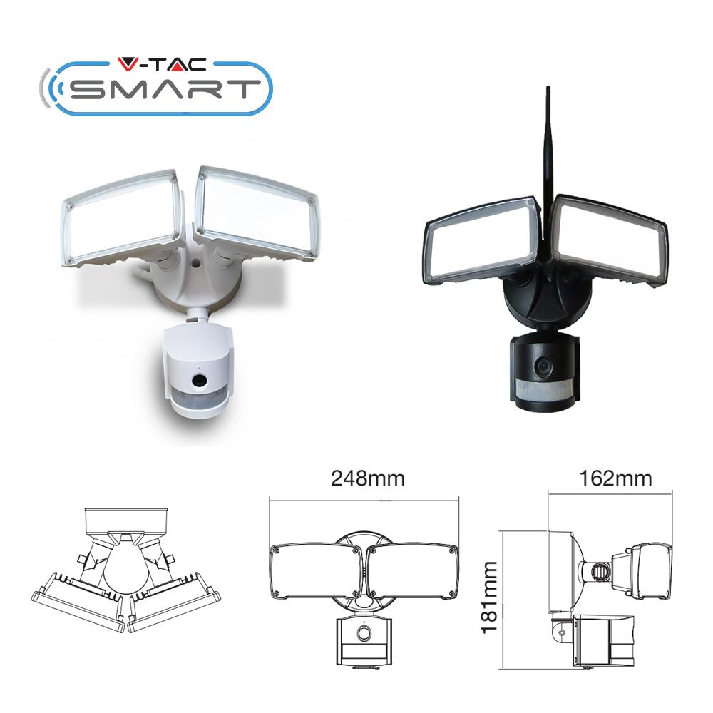 PIR Floodlight camera
