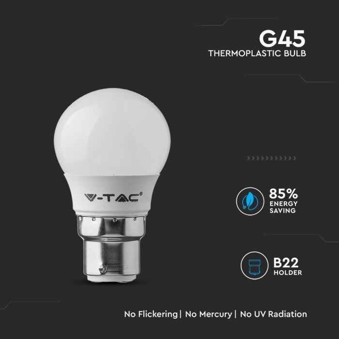 G45 Plastic Bulb B22 with Samsung SMD Chip