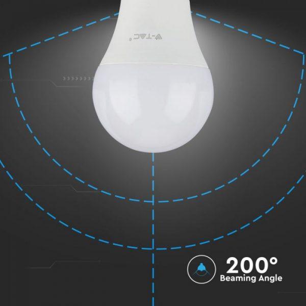 6.5W Plastic Bulb A60 A++