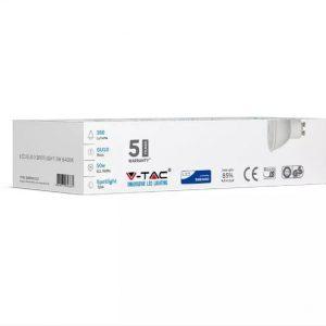 5W Plastic Spotlight GU10 12pcs/Pack