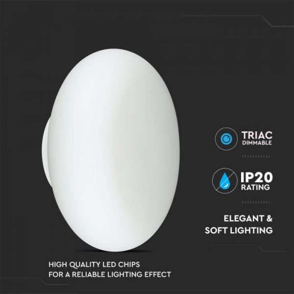 25W LED Designer Table Lamp (TRIAC Dimmable)
