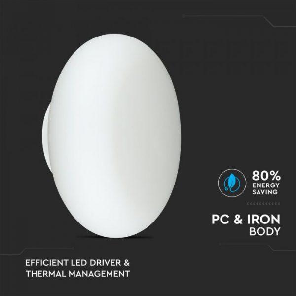 40W LED Designer Wall light (TRIAC dimmable)