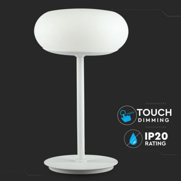 12W LED Designer Table Lamp Touch Dimming