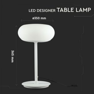 25W LED Designer Table Lamp (Touch Dimmable)