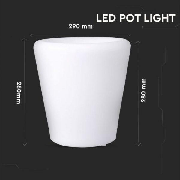LED Pot Light RGB D:28x29cm IP54