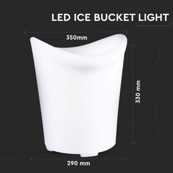 LED Ice Bucket Light RGB