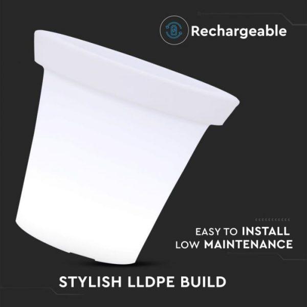 LED Pot Light RGB D:35.5x32.5cm IP54