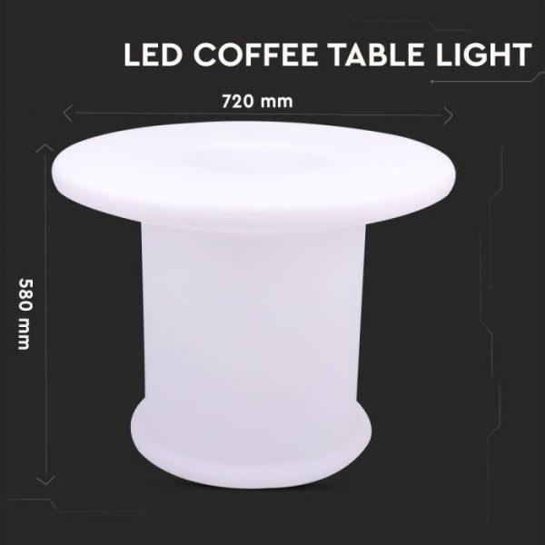 LED Coffee Table Decorative Lamp RGB