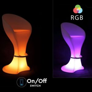 LED Bar Stool Decorative Lamp RGB