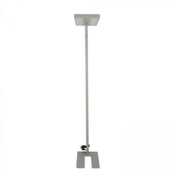 80W LED FLOOR LAMP (KNOB DIMMING) Round Corner
