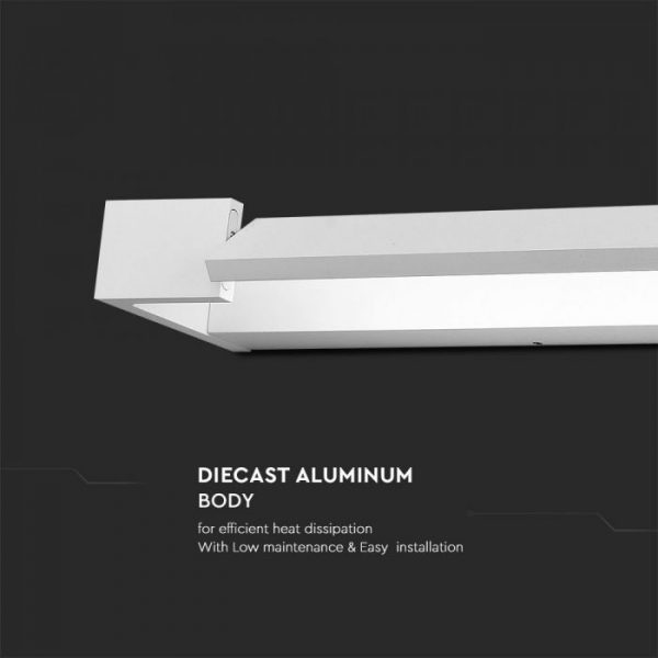 18W LED Adjustable Modern Wall Light IP44 3000K/ 4000K