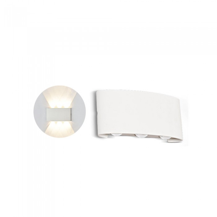 6W Up-Down Led Wall Light IP54