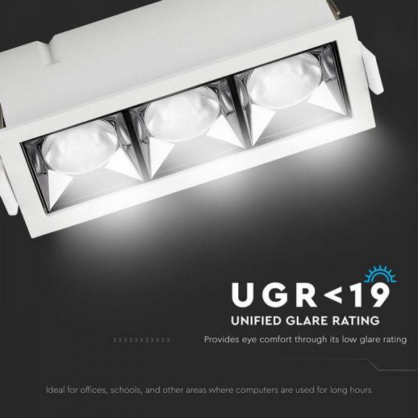 12W LED Reflector Downlight 12° Beam Angle