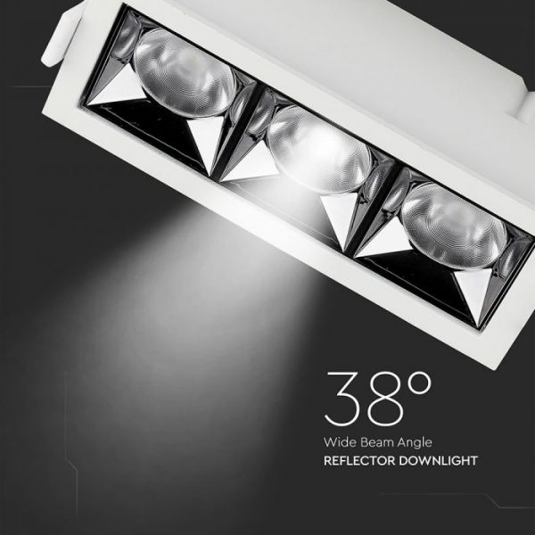 12W LED Reflector Downlight 38° Beam Angle with Samsung Chip