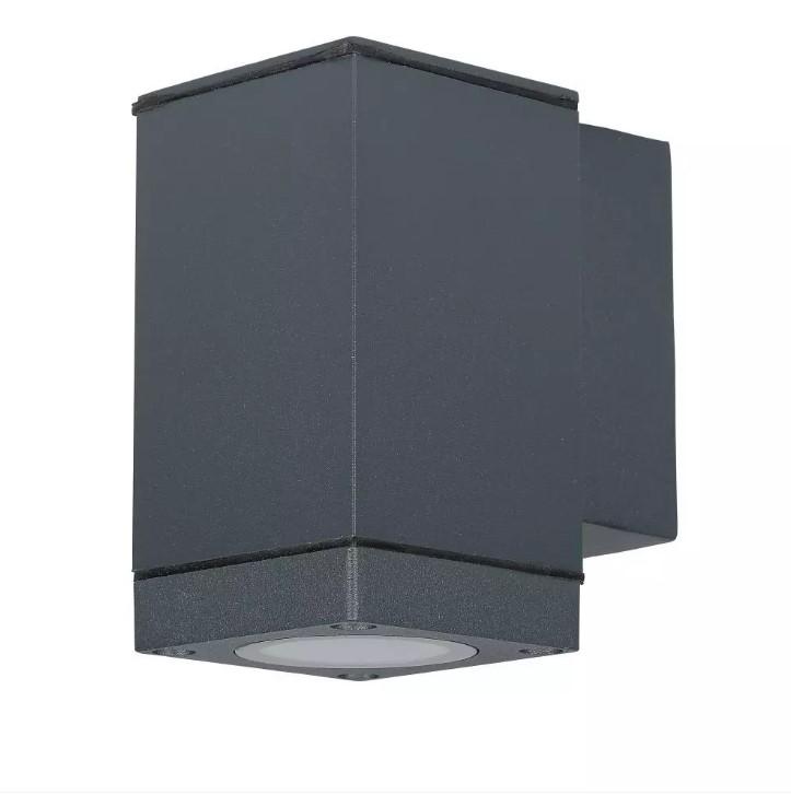 GU10 Wall Lamp Dark Grey (Down lighting)