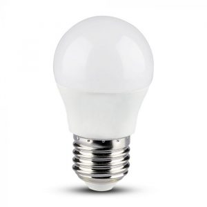 LED Bulb 4.5W E27 G45 SMART RGB, White, Warm White