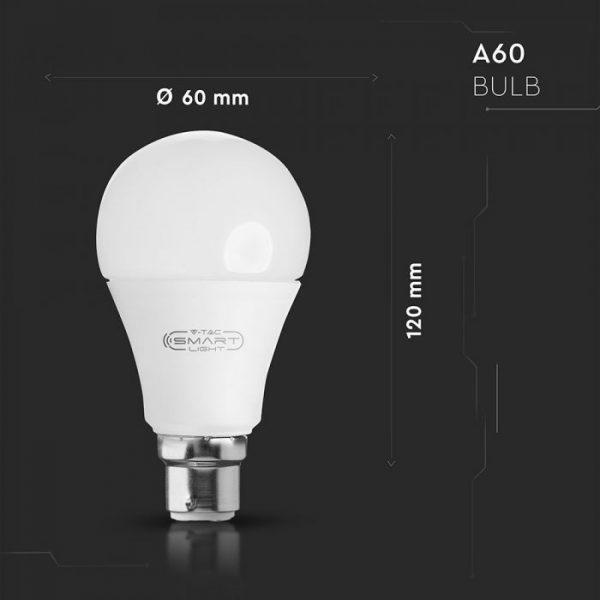 B22 Remote Smart Bulb