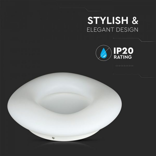 22W Designer Surface Lamp Round CCT Dimmable