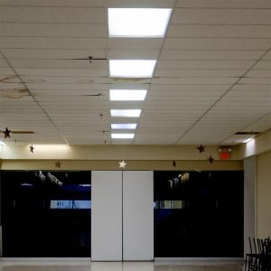 25W High-Lumen LED Panel Light Surface & Recessed 600x600