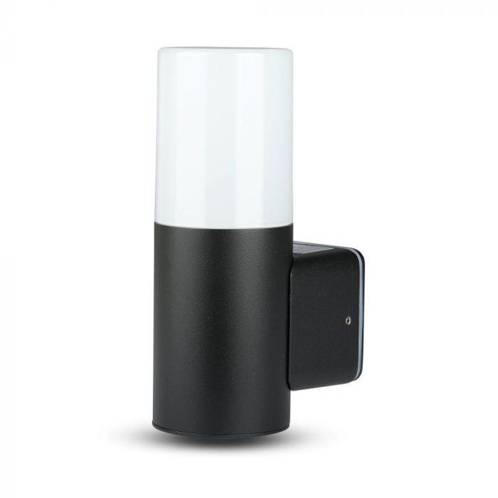GU10 Garden Wall Lamp Round Black/White
