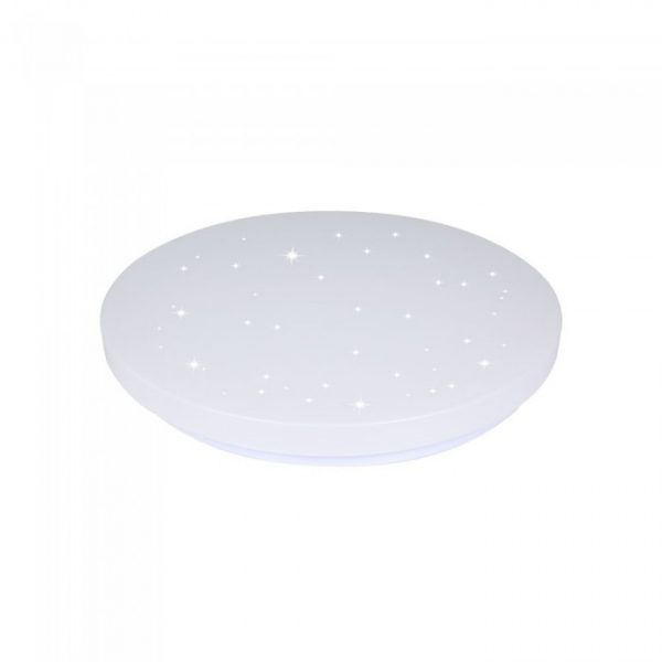 12W LED Dome Light-23cm, Starry Cover CCT:3IN1-Round