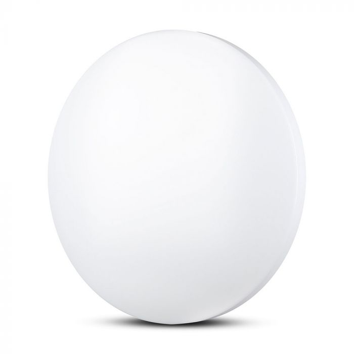 VT-8418 18W LED DOME LIGHT-300MM WITH MILKY COVER CCT:3IN1-ROUND