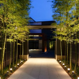 LED Post Garden Light