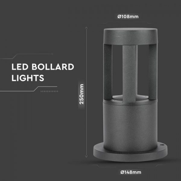 LED Post Garden Light