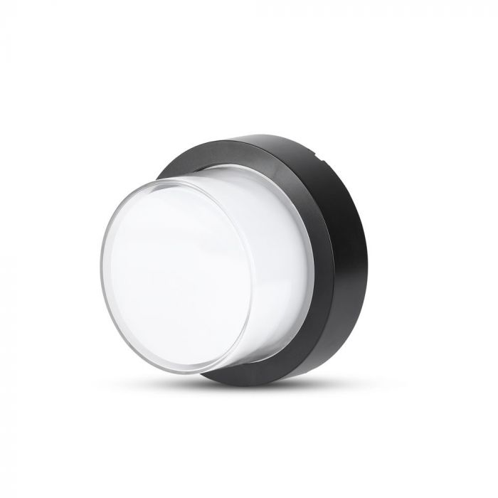 VT-828 12W LED WALL LIGHT COLORCODE:3000K,BLACK -ROUND