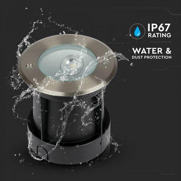 8W LED COB Underground Light Oblique Angle 4000K