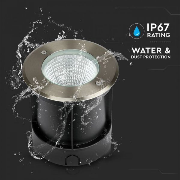 12W LED COB Underground Light 4000K