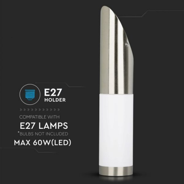 Wall Lamp Stainless Steel Body Diagonal Angle