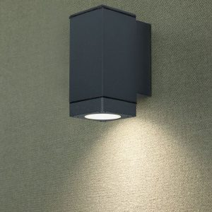Wall Lamp GU10 Matt White Up Down
